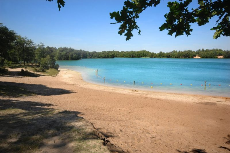 Blauwe meer
